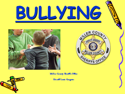 Bullying PowerPoint image