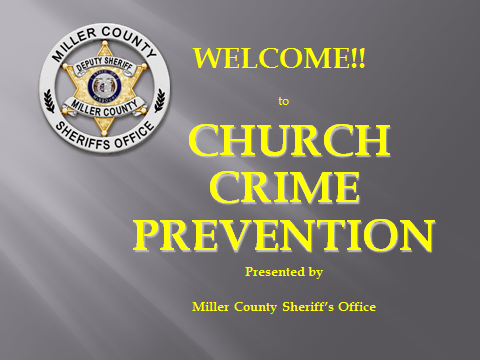 Church Crime Prevention PowerPoint image